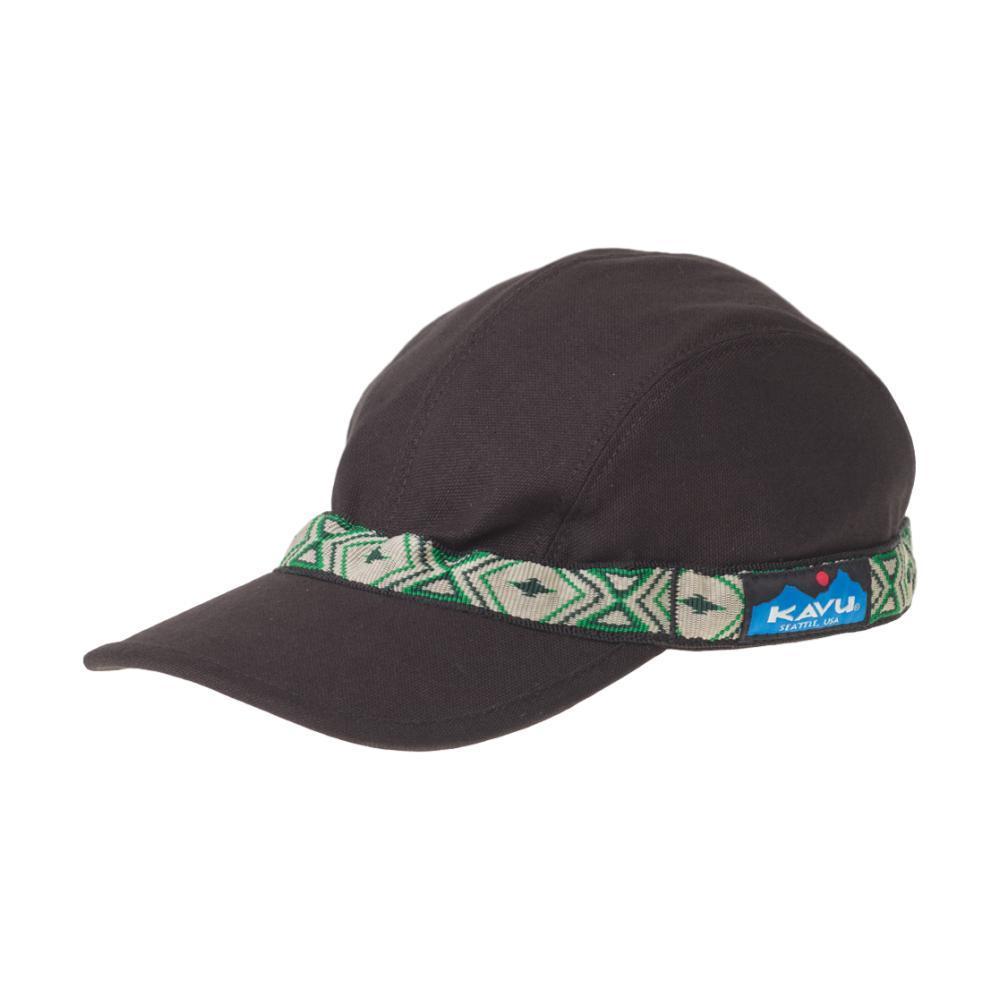 KAVU Strapcap Hat BLACK