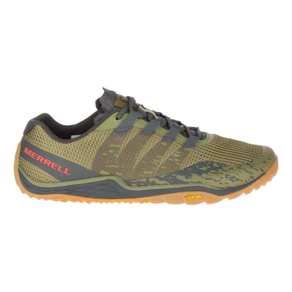 Merrell Men's Trail Glove 5 Running Shoes OLVDRAB.BLGA