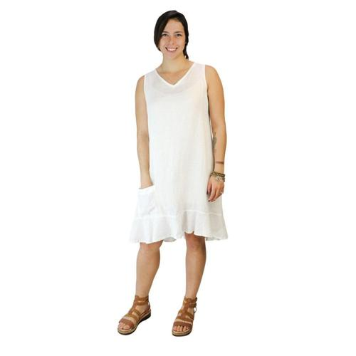 FLAX Women's Sweet Dreams Dress Milk