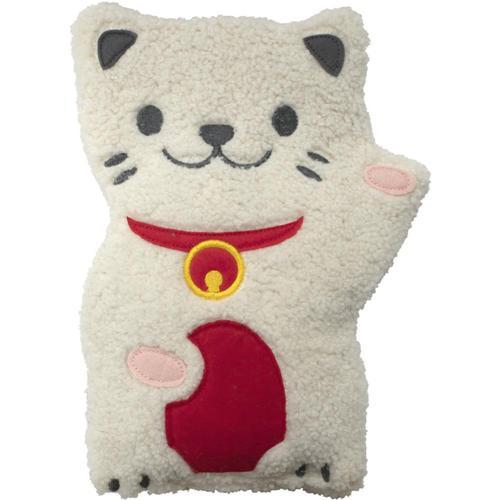 Gama-Go Heatable Huggable Lucky Cat Pillow