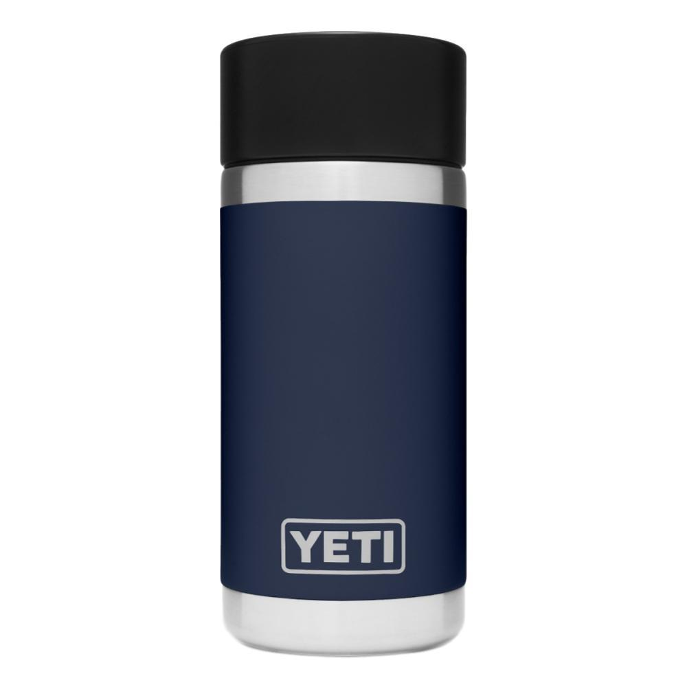 YETI Rambler 12oz Bottle with HotShot Cap NAVY