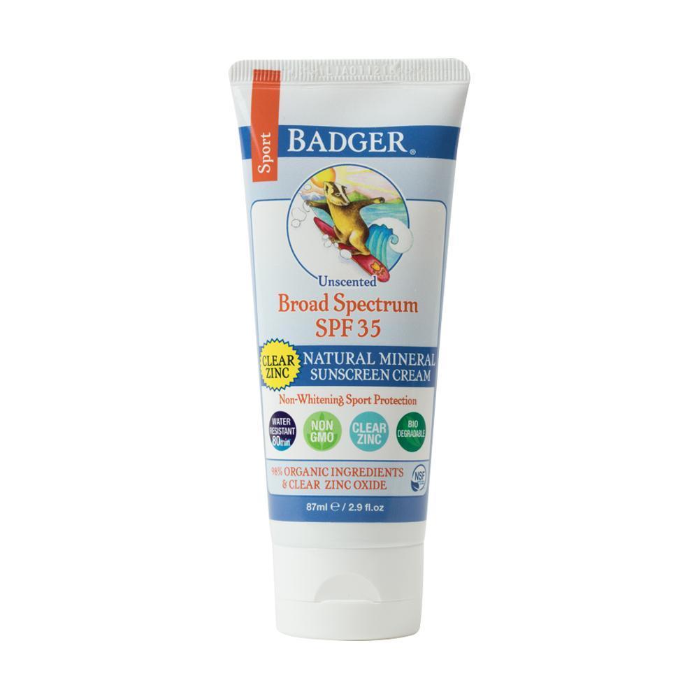 Badger Clear Zinc Oxide Sport Sunscreen - SPF 35 CLEAR_ZINC