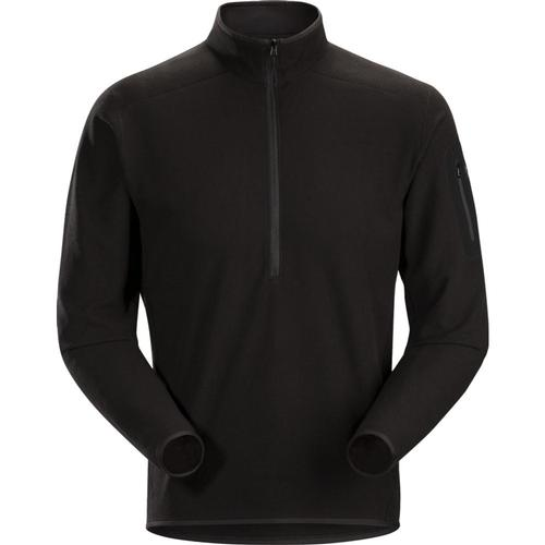 Arc'Teryx Men's Delta LT Zip Neck Pullover Black