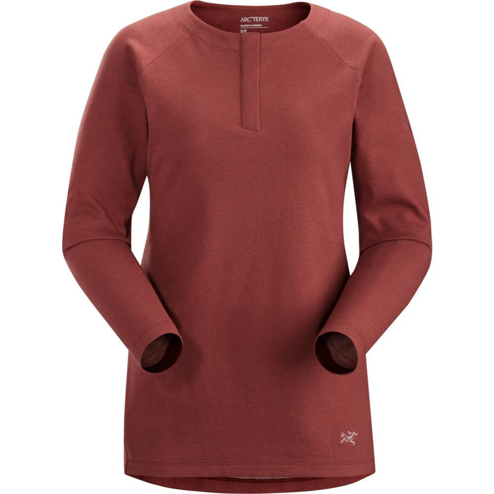 Arc'teryx Women's Sirrus Long Sleeve Henley SEQUOIA
