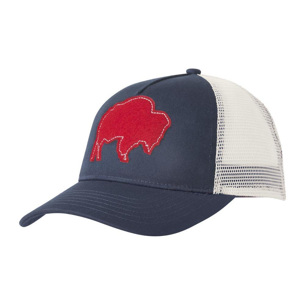 Mountain Khakis Bison Patch Trucker Cap TWILIT_676