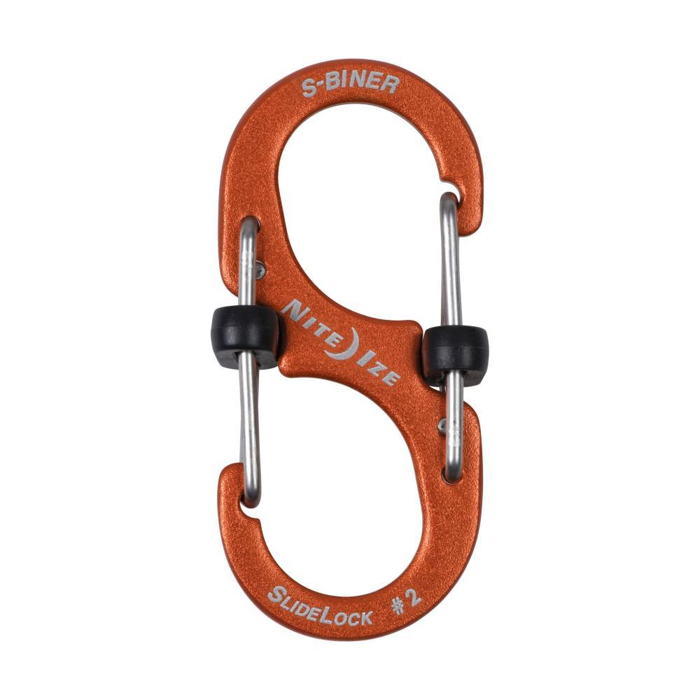 Nite Ize S-Biner Slidelock Aluminum #2 - Orange ORANGE