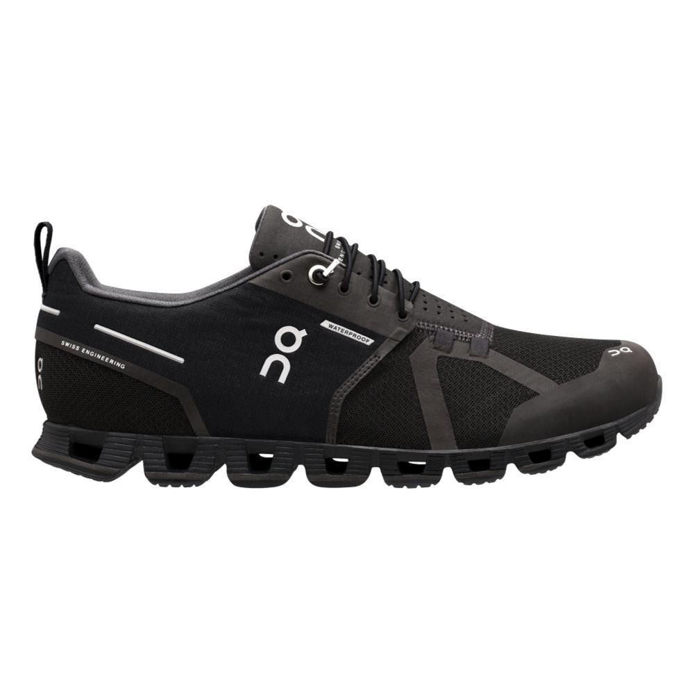 On Men's Cloud Waterproof Running Shoes BLK.LNR