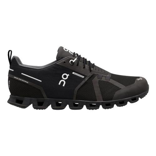 On Men's Cloud Waterproof Running Shoes Blk.Lnr