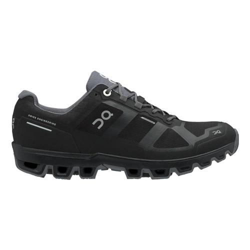 On Women's Cloudventure Waterproof Trail Running Shoes Blk.Grph