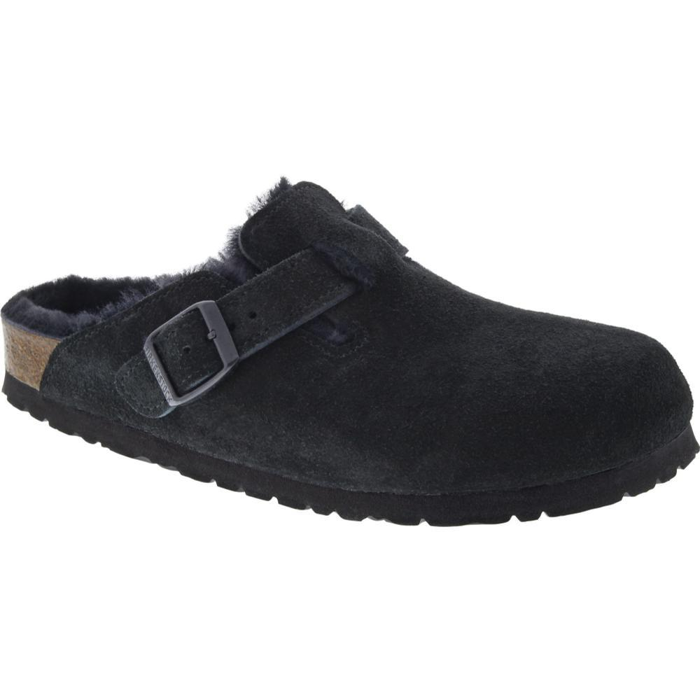 Birkenstock Women's Boston Shearling Clogs BLACK