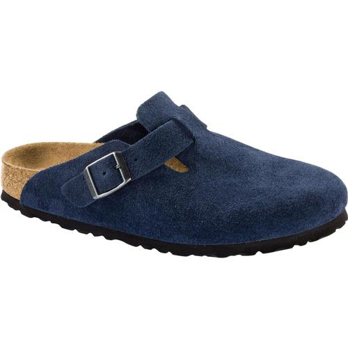Birkenstock Women's Boston Suede Leather Clogs Night