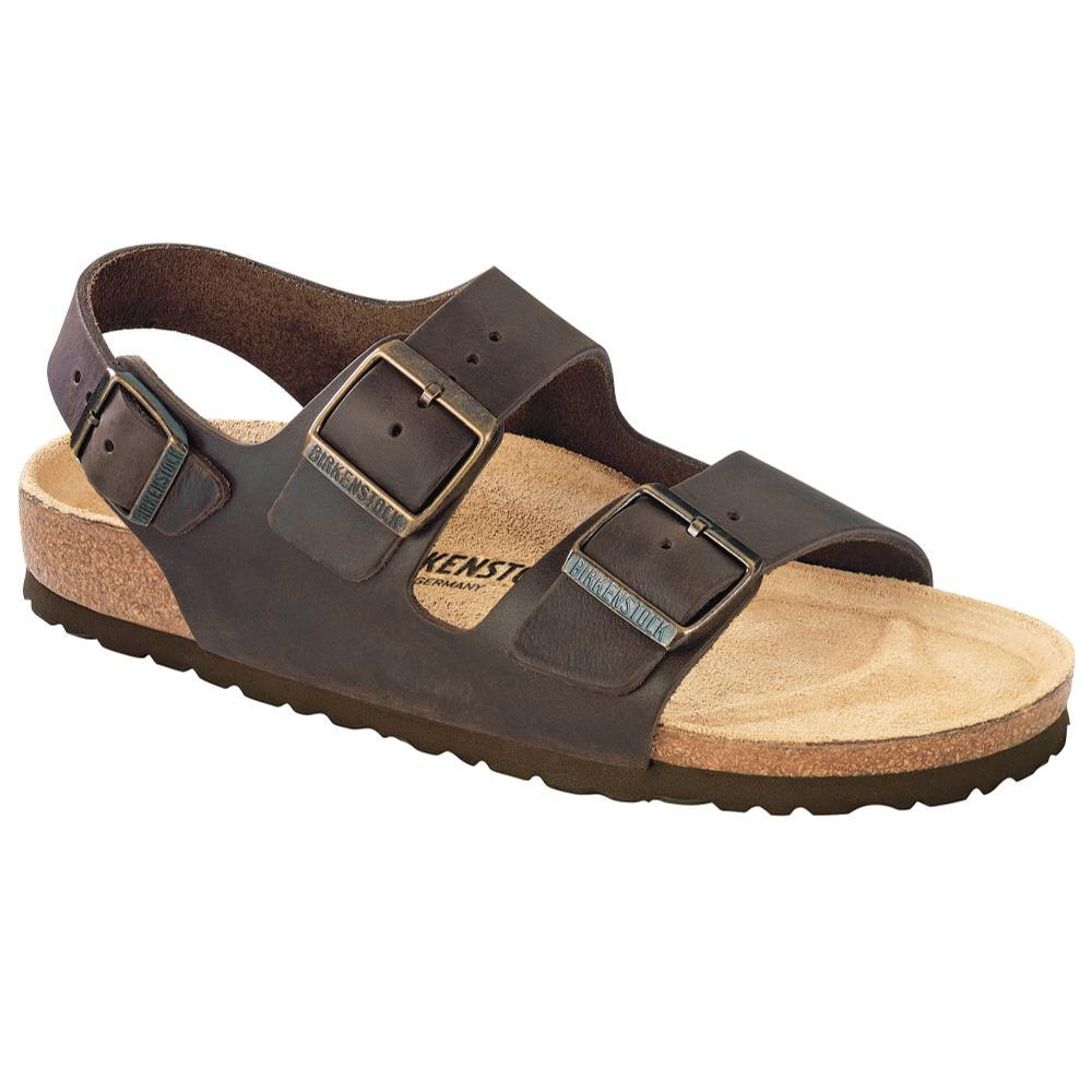 Birkenstock Women's Milano Leather Sandals - Regular HABANA