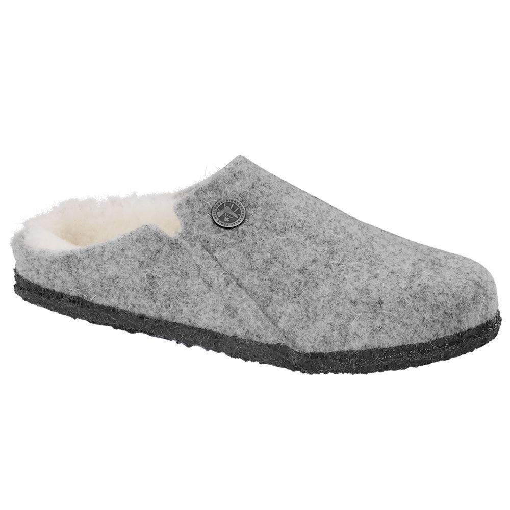Birkenstock Women's Zermatt Wool Felt Slippers - Narrow LTGRAY