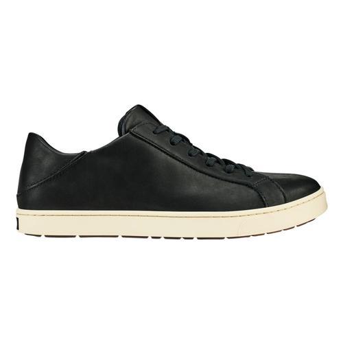 OluKai Men's Kahu Pahaha Shoes Blk.Bone_4019