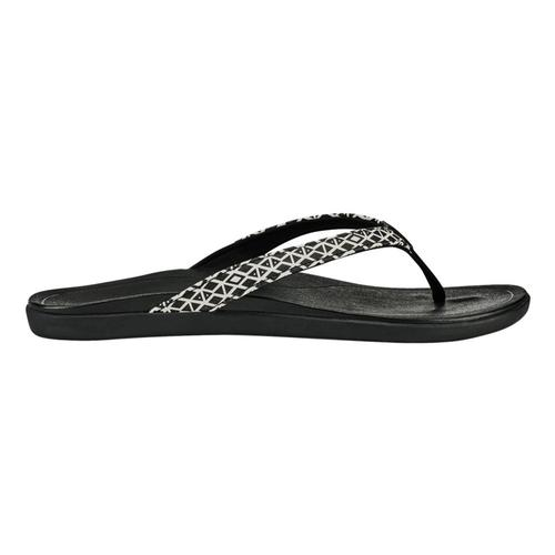 OluKai Women's Ho'opio Sandals Blkap.Blk_qb40