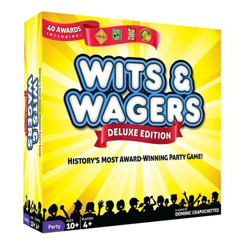 North Star Games Wits and Wagers Deluxe Edition