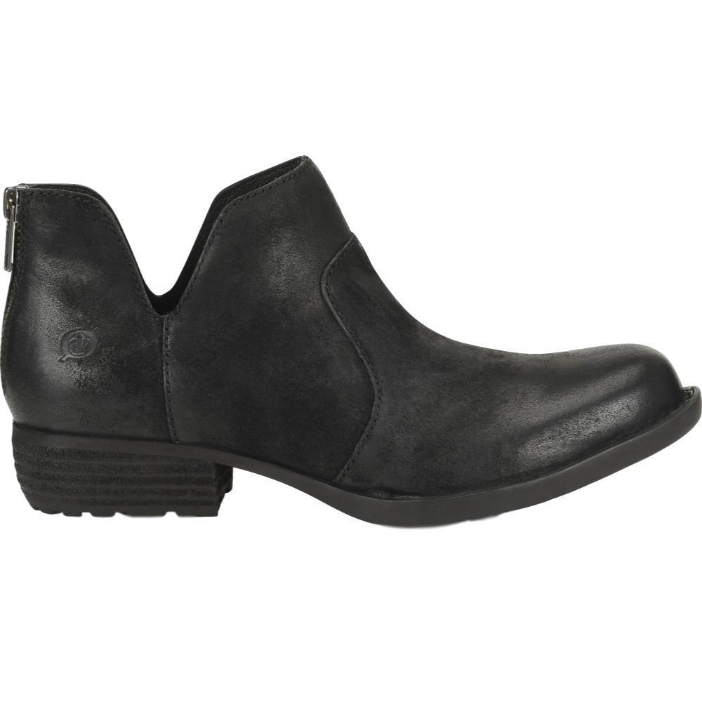 Born Women's Kerri Ankle Boots BLACK.DS