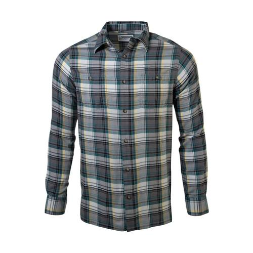 Mountain Khakis Men's Meridian Long Sleeve Shirt Gunmetal