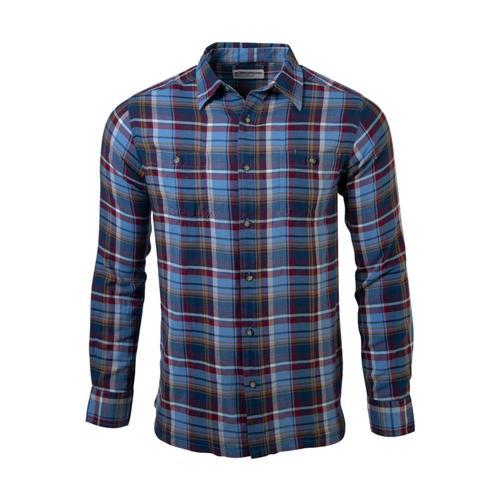 Mountain Khakis Men's Meridian Long Sleeve Shirt Heron
