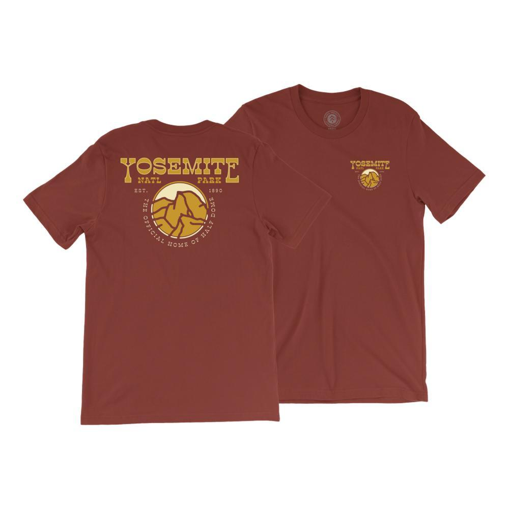 Parks Project Unisex Yosemite Western Tee RUST