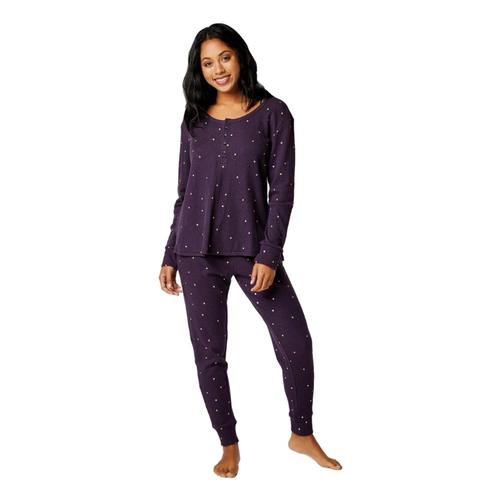 Carve Designs Women's Arleta Long Sleeve Henley Shade