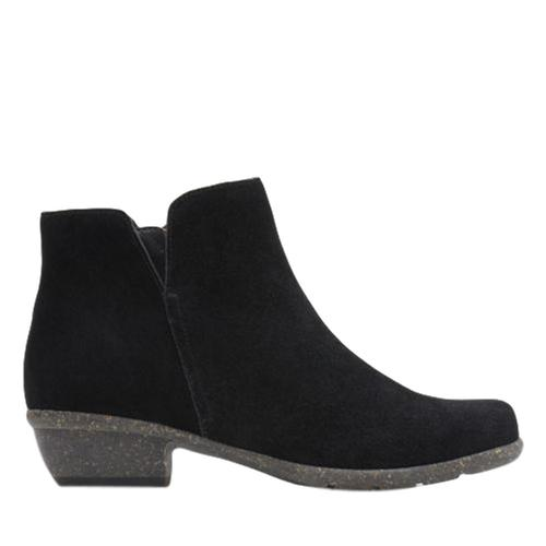 Clarks Women's Wilrose Frost Boots Black.Sd