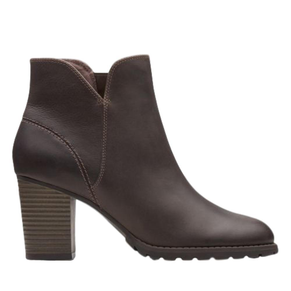 Clarks Women's Verona Trish Ankle Boots TAUPE.LTH