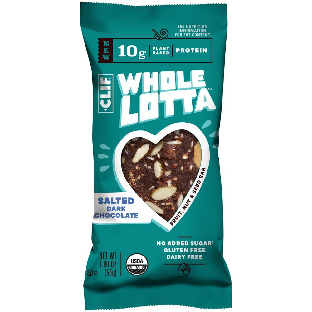 CLIF Whole Lotta Salted Dark Chocolate Bar SLT.DRK.CHOC