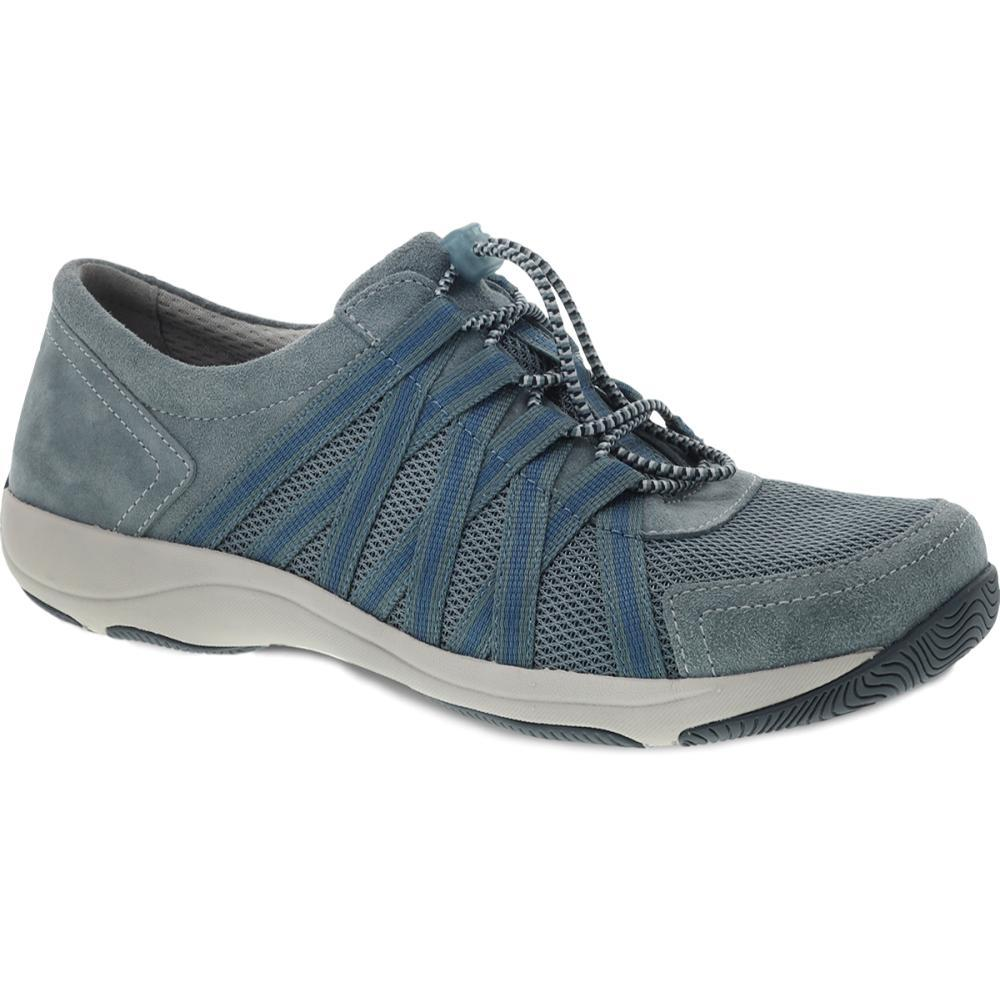 Dansko Women's Honor Slate Suede Sneakers SLATE.SD
