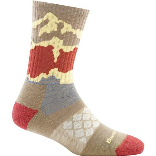 Darn Tough Women's Three Peaks Micro Crew Light Cushion Socks Oatmeal