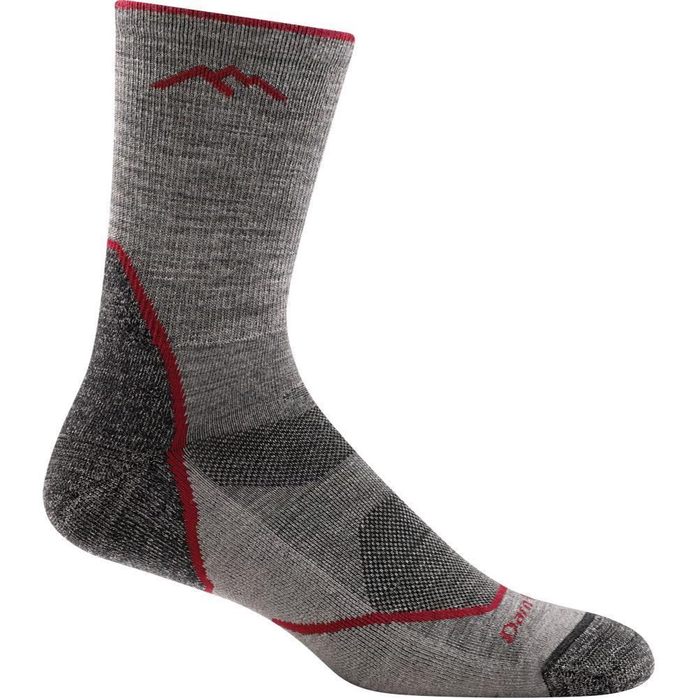 Darn Tough Men's Light Hiker Micro Crew Light Cushion Socks TAUPE