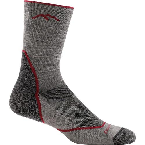 Darn Tough Men's Light Hiker Micro Crew Light Cushion Socks Taupe
