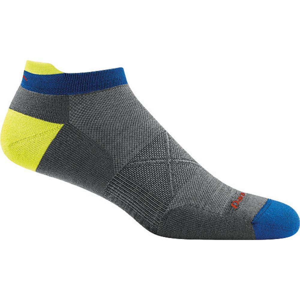 Darn Tough Men's Vertex No Show Tab Ultra-Light Socks GRAY