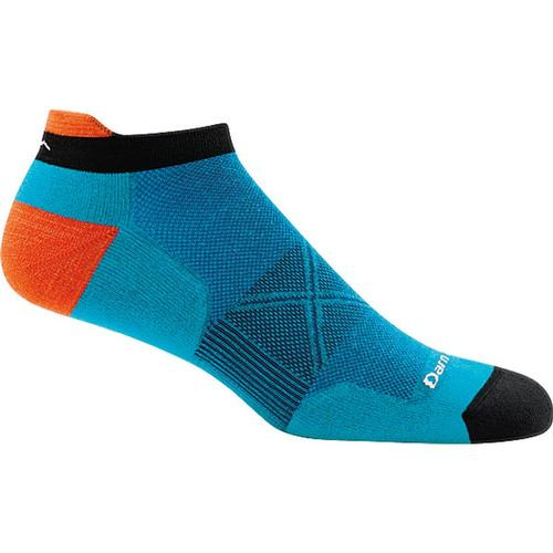 Darn Tough Men's Vertex No Show Tab Ultra-Light Cushion Socks Teal