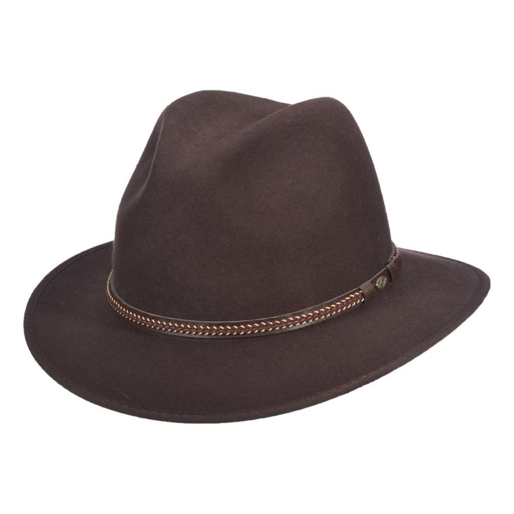 Dorfman-Pacific Co. Scala Men's Charlotte Hat CHOCOLATE