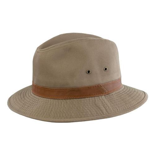 Dorfman-Pacific Co. Cotton Safari Hiker Hat Bark