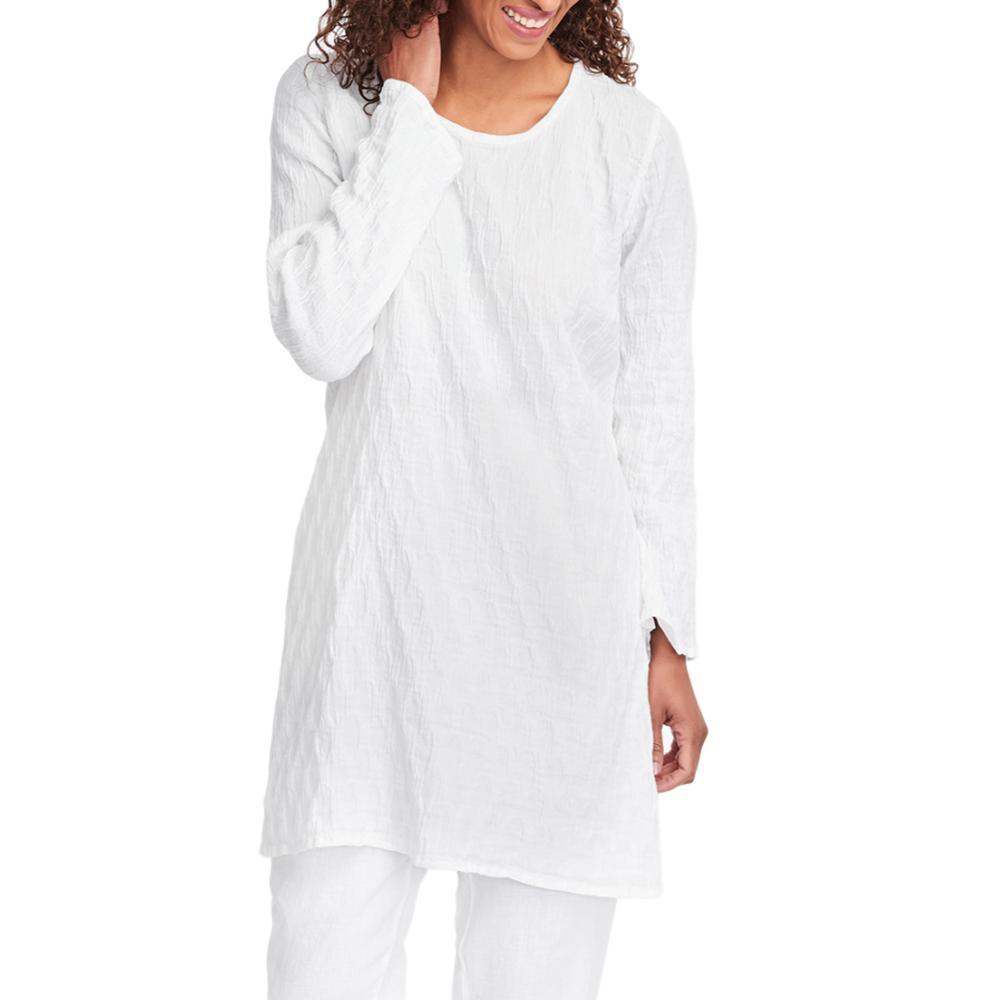 FLAX Women's Effortless Tunic BLANCPUCKER