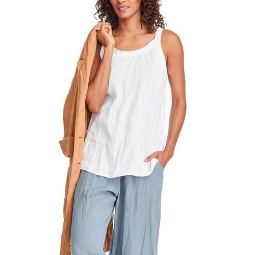 FLAX Women's Upward Tunic White