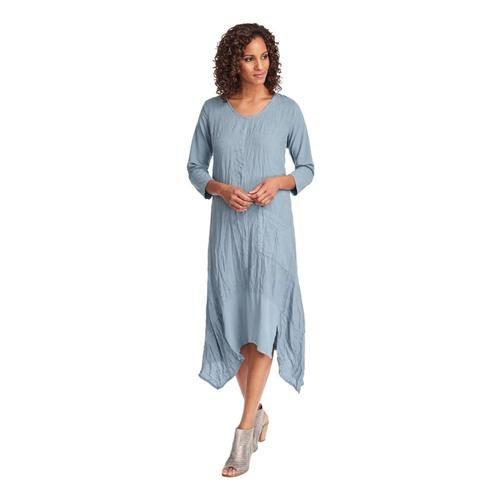 FLAX Women's Out and About Dress Bluecorn