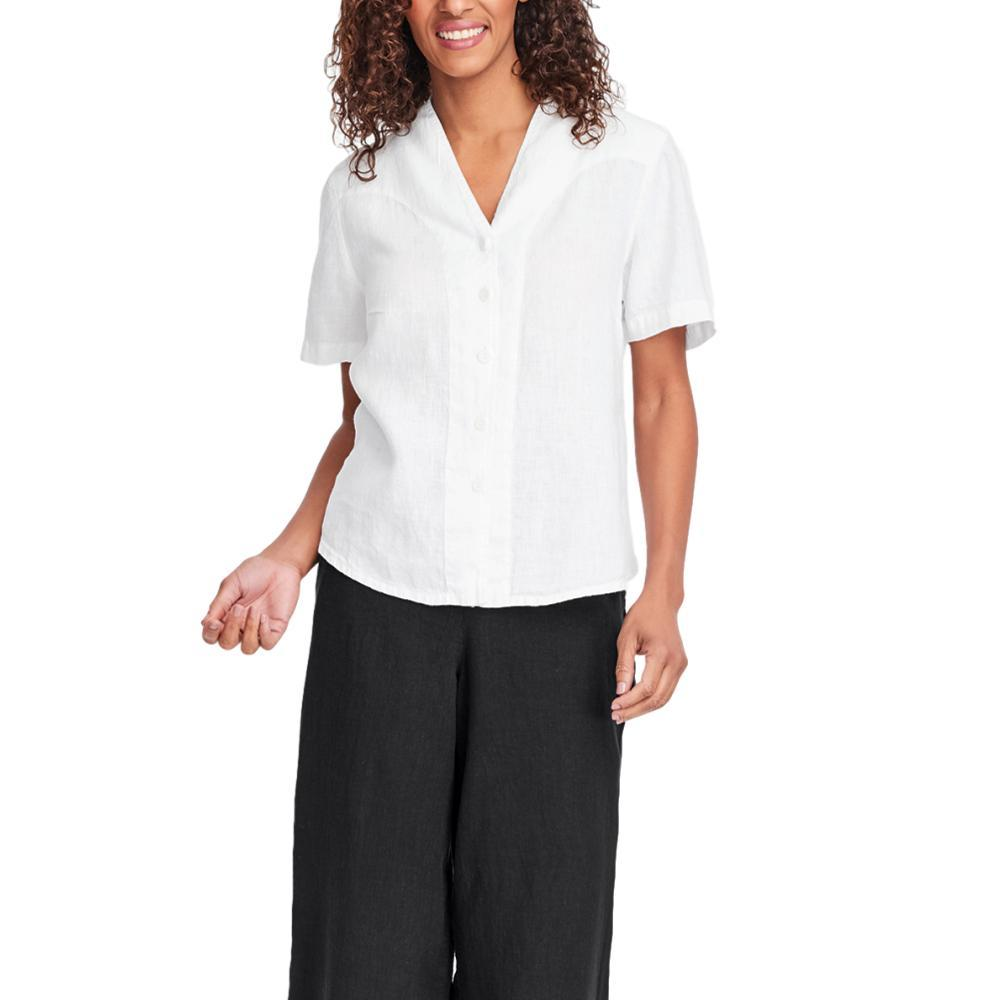 FLAX Women's Selected Version Blouse BLANC