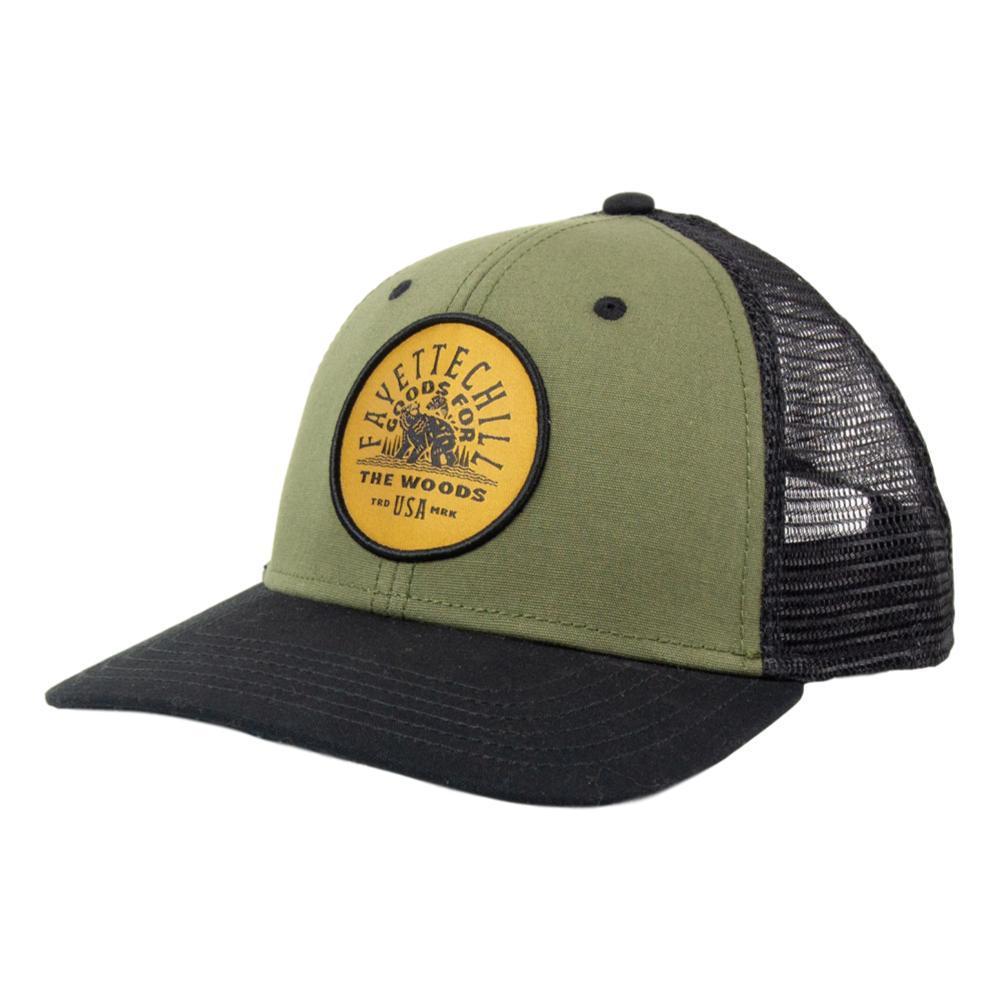 Fayettechill Golden Cub Hat OLIVEBLACK