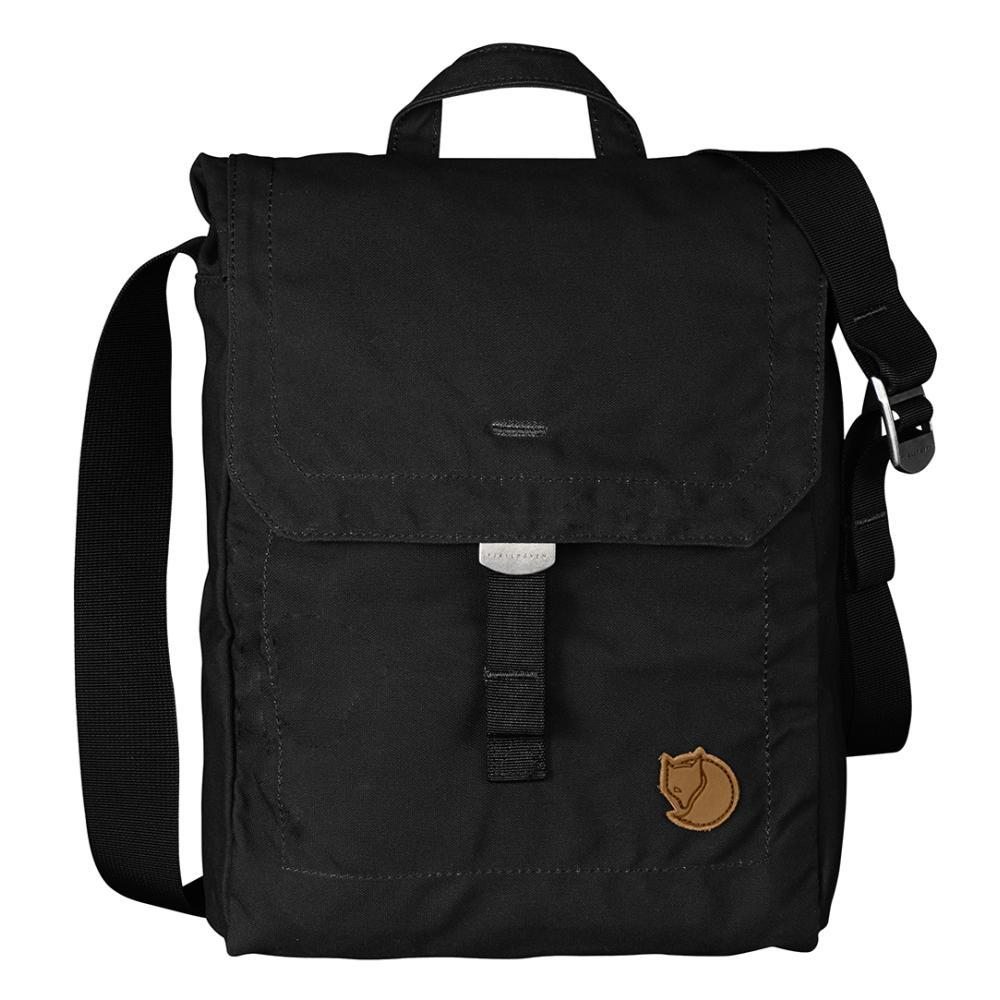 Fjallraven Foldsack No. 3 Shoulder Bag BLACK_550