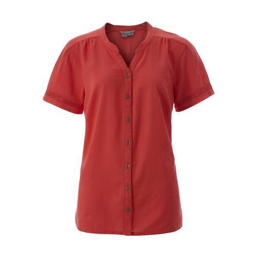 Royal Robbins Women's Cool Mesh Eco Short Sleeve Top Grenadine