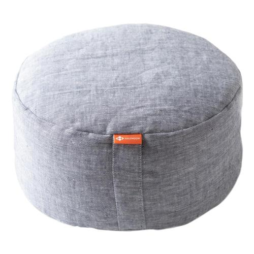 Halfmoon Mod Meditation Cushion - Limited Edition Lt.Dnm_linen