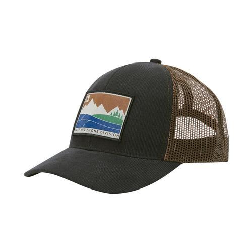 HippyTree Divide Hat Black