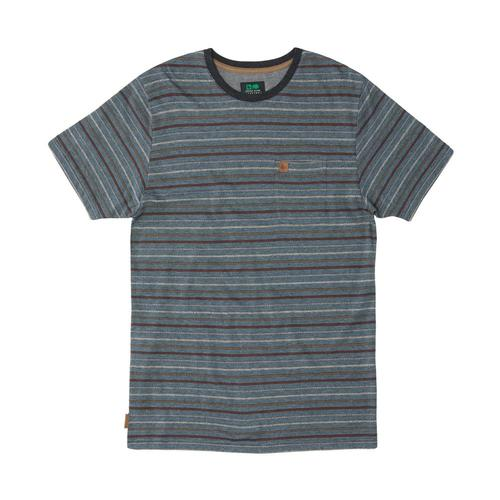 HippyTree Men's Brewer Tee Hthrslate