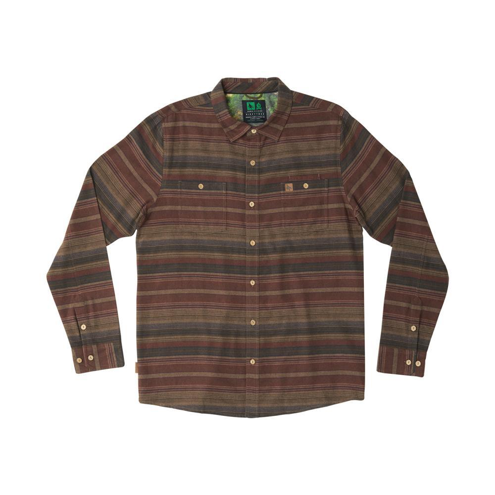 HippyTree Men's Santiago Flannel Shirt BROWN