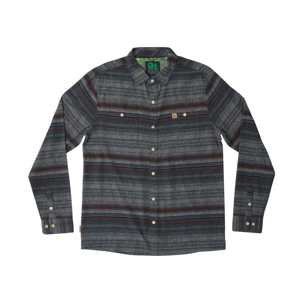 HippyTree Men's Santiago Flannel Shirt GREY