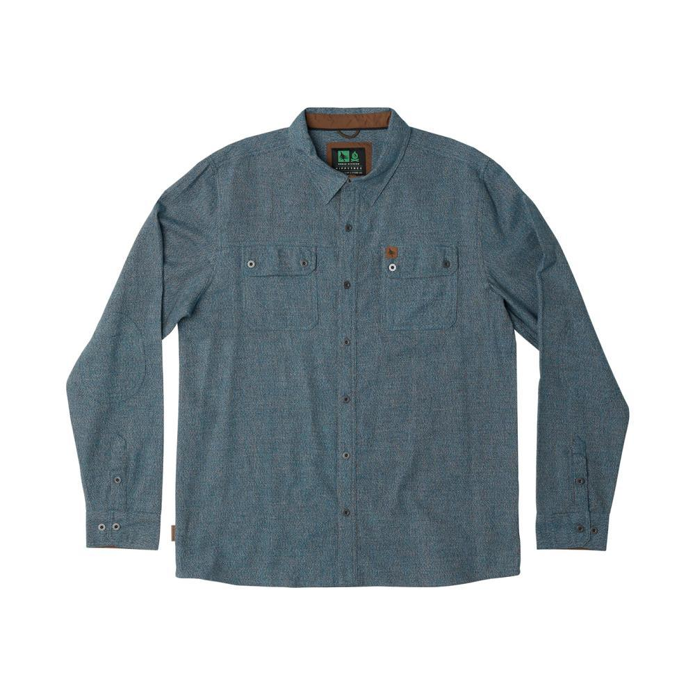 HippyTree Men's Leadbetter Flannel Shirt BLUE