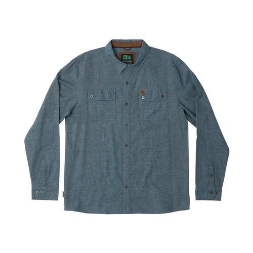 HippyTree Men's Leadbetter Flannel Shirt Blue